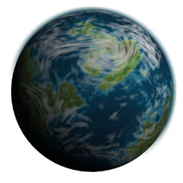 Theoretical Earth-like Planet