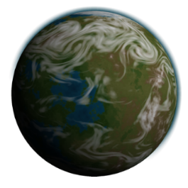 Planet K2-155 b (Warm Super Terran)
